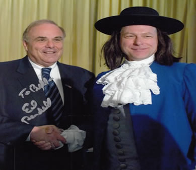 Ed Rendell and William Penn
